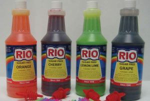 Selection of Rio Syrup flavors